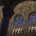 サンタンヌ・ド・ボープレ大聖堂の天井画